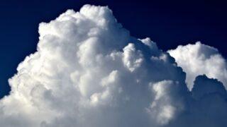 ムクムクした雲